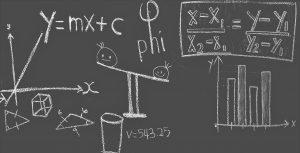 Chalkboard with formula